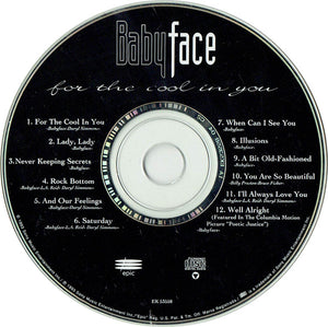 Babyface ‎– For The Cool In You - Pre-Owned CD
