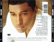 Load image into Gallery viewer, Babyface ‎– For The Cool In You - Pre-Owned CD