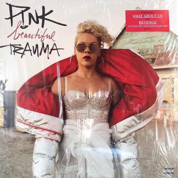 P!nk ‎– Beautiful Trauma - New Sealed 150g Vinyl LP
