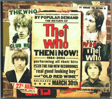 Load image into Gallery viewer, The Who ‎– Then And Now - Pre-Owned CD