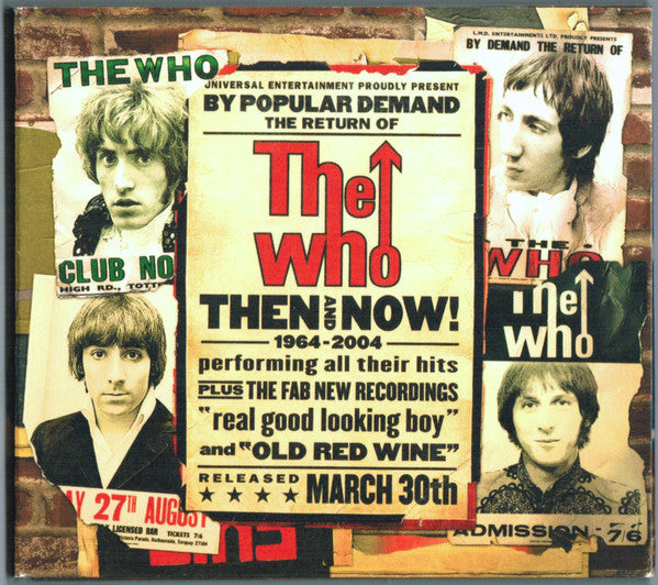 The Who ‎– Then And Now - Pre-Owned CD