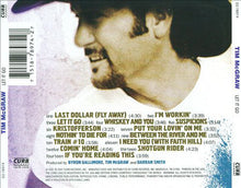 Load image into Gallery viewer, Tim McGraw ‎– Let It Go - Pre-Owned CD