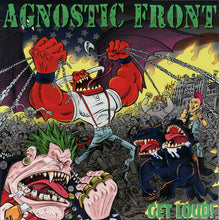 Load image into Gallery viewer, Agnostic Front ‎– Get Loud! - New Sealed Red Vinyl LP