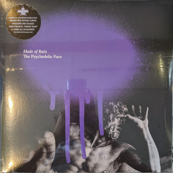 The Psychedelic Furs ‎– Made Of Rain - New Sealed Purple Vinyl