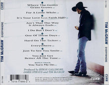 Load image into Gallery viewer, Tim McGraw ‎– Everywhere - Pre-Owned CD