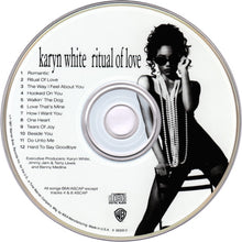Load image into Gallery viewer, Karyn White ‎– Ritual Of Love - Pre-Owned CD
