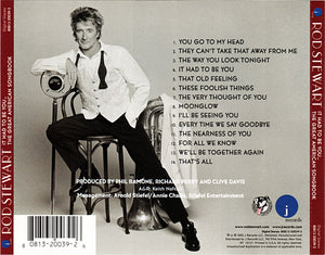 Rod Stewart ‎– It Had To Be You... The Great American Songbook - Pre-Owned CD
