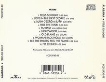 Load image into Gallery viewer, Alabama ‎– Feels So Right - Pre-Owned CD