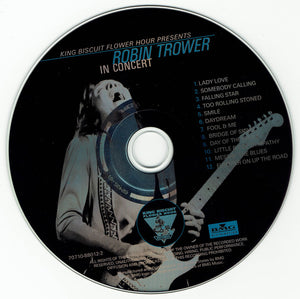 Robin Trower - King Biscuit Flower Hour Presents: Robin Trower In Concert - Pre-Owned CD
