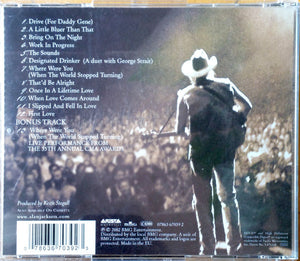 Alan Jackson  ‎– Drive - Pre-Owned CD
