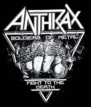 Load image into Gallery viewer, ANTHRAX (METAL) SHIRT