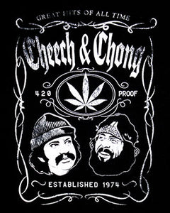Cheech and Chong Whiskey Label T-Shirt