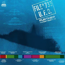 Load image into Gallery viewer, File #733 U.F.O. – Further Investigation - New Sealed Vinyl LP