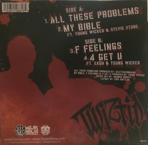 "Twiztid - All These Problems - New Sealed 10"" Vinyl LP"