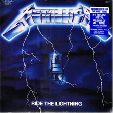 Load image into Gallery viewer, Metallica - Ride The Lightning - New Sealed Vinyl LP