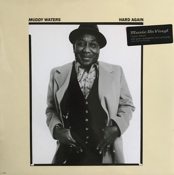 Muddy Waters - Hard Again - New Sealed Vinyl - MOVLP565