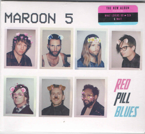 Maroon 5 - Red Pill Blues - New Sealed CD