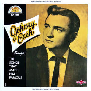 Johnny Cash ‎– Sings The Songs That Made Him Famous - New Sealed Vinyl LP