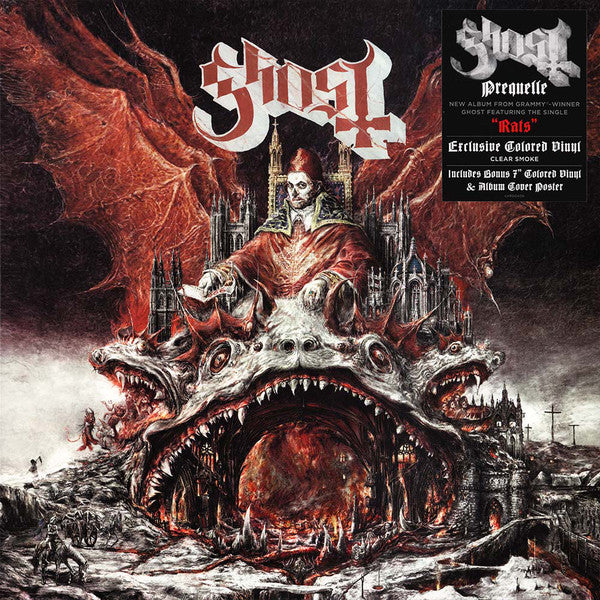 Ghost - Prequelle - New Sealed Vinyl LP
