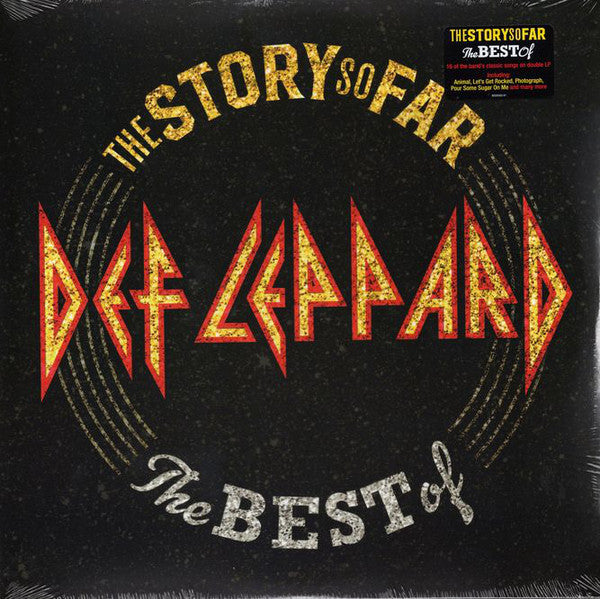 Def Leppard - The Story So Far: The Best Of - New Sealed Vinyl Double LP