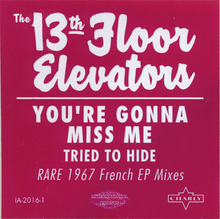 Load image into Gallery viewer, 13th Floor Elevators - You're Gonna Miss Me - New Sealed Vinyl LP