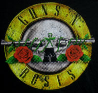 Load image into Gallery viewer, GUNS N ROSES (DISTRESSED BULLET) Women's Cut T-Shirt