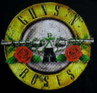 GUNS N ROSES (DISTRESSED BULLET) Women's Cut T-Shirt