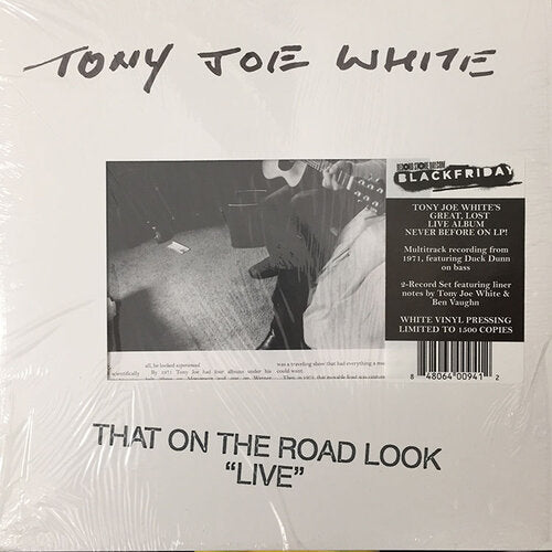 "Tony Joe White ‎– That On The Road Look ""Live"" - New Sealed Vinyl LP"