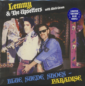 Lemmy & The Upsetters With Mick Green ‎– Blue Suede Shoes / Paradise - New Sealed Vinyl LP