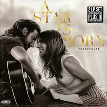 Load image into Gallery viewer, Lady Gaga, Bradley Cooper ‎– A Star Is Born Soundtrack - New Sealed Vinyl LP