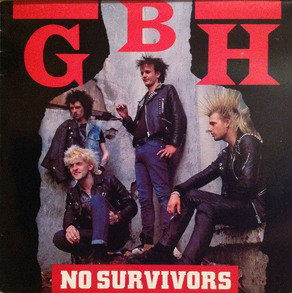 G.B.H. - No Survivors - New Sealed Vinyl LP