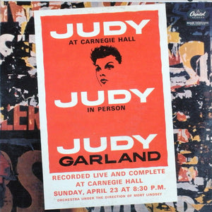 Judy Garland - Judy at Carnegie Hall - Judy in Person - Pre-Owned CD 2 Disc Set