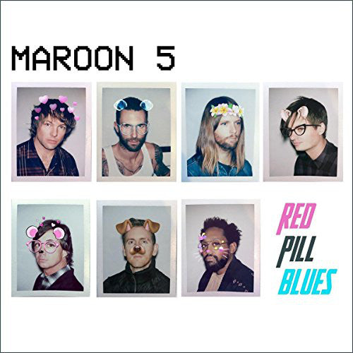 Maroon 5 - Red Pill Blues - New Sealed Vinyl LP