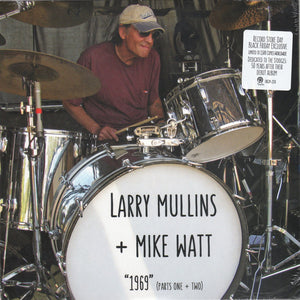 Larry Mullins + Mike Watt - 1969 (Parts One + Two) - New Sealed Vinyl LP