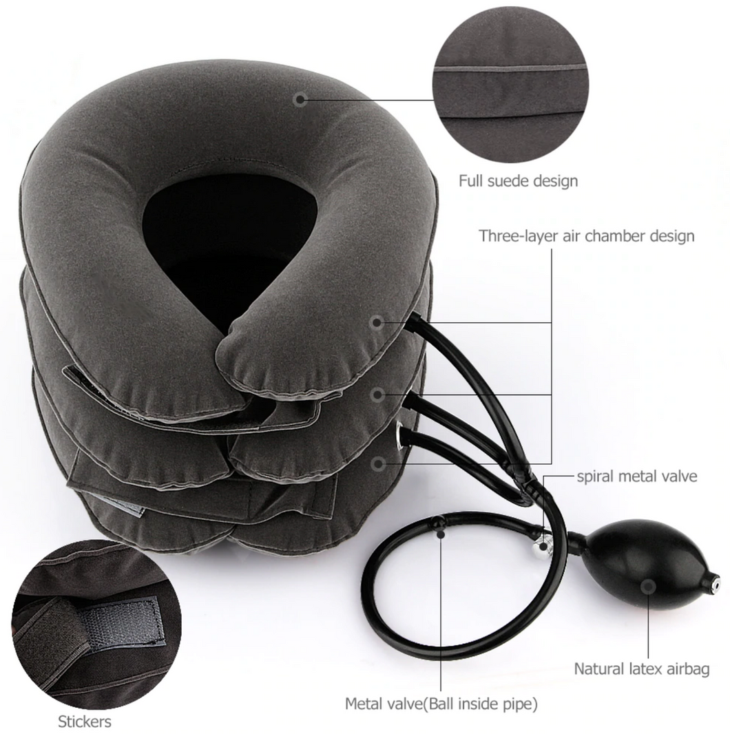 [50% OFF] SHAPE™ Inflatable Neck Massage Pillow
