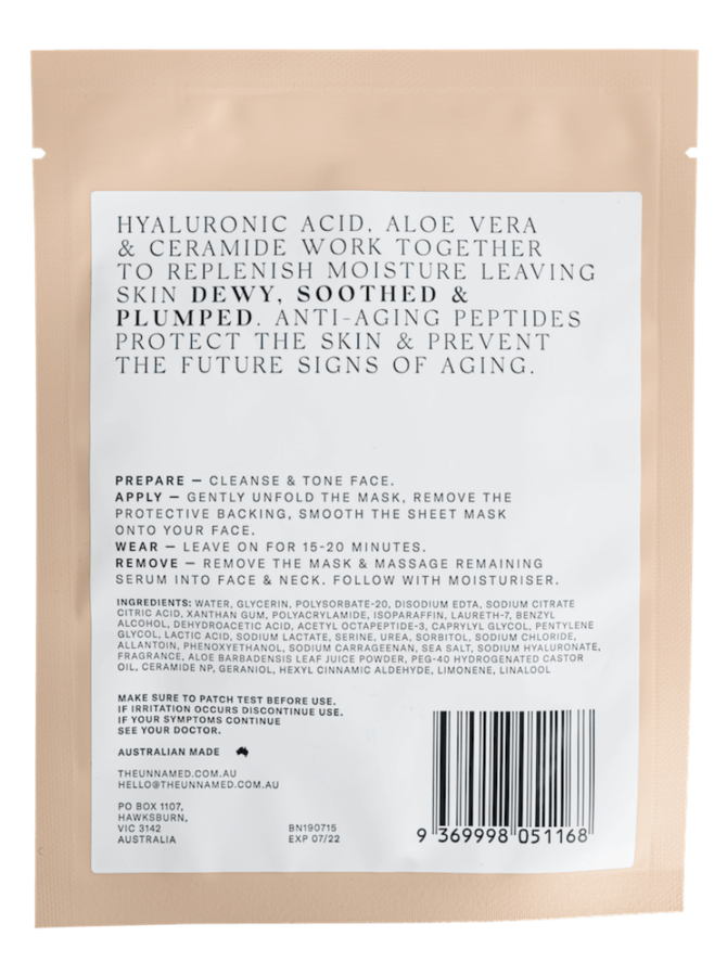 HYDRATING & ANTI-AGING SHEET MASK