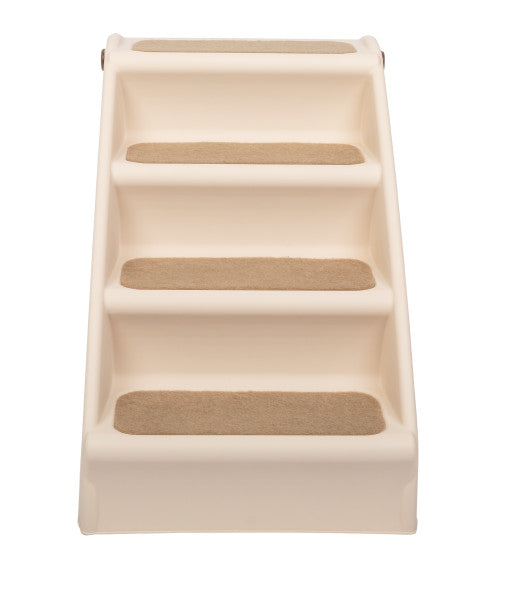 CozyUp™ Folding Pet Steps Tan Large
