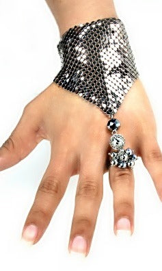 Hand Chain and Ring Set