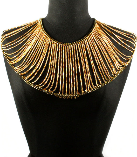 """CLEOPATRA"" ARMOUR BODY CHAIN"