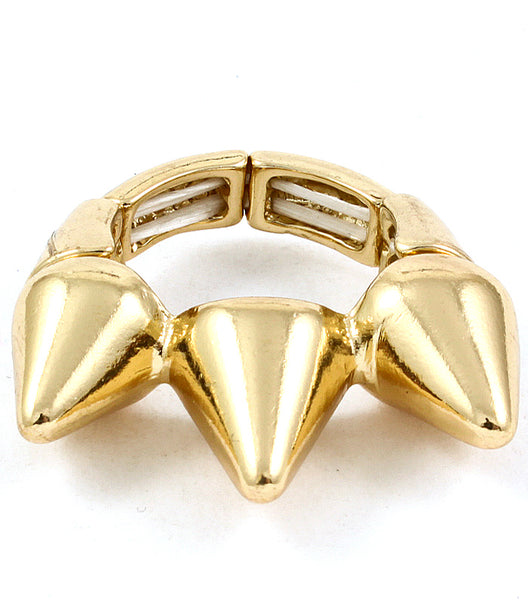 STRETCH SPIKE RING