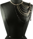 "Load image into Gallery viewer, ""VOGUE"" MULTI LAYERED Shoulder Body Chain"