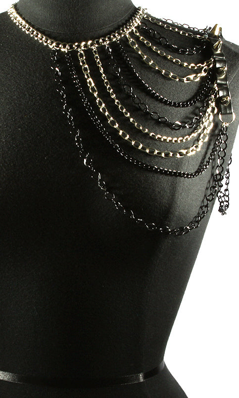 """VOGUE"" MULTI LAYERED Shoulder Body Chain"