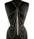 Load image into Gallery viewer, 'LUISA'  CRYSTAL STUDS LAYERED  BODYCHAIN