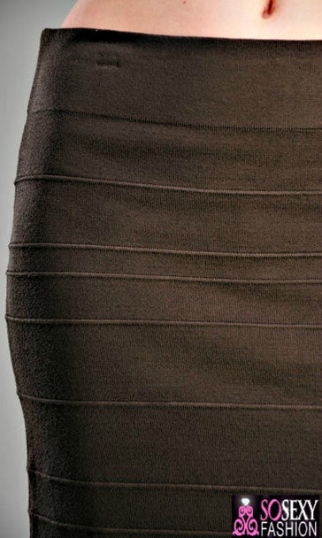 'Danielle'  Bodycon Mini Skirt