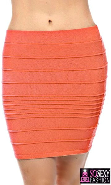'JEMA' Bodycon Bandage Skirt