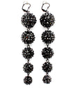 Load image into Gallery viewer, BasketBall Wives Fireball Crystal Studs Earring