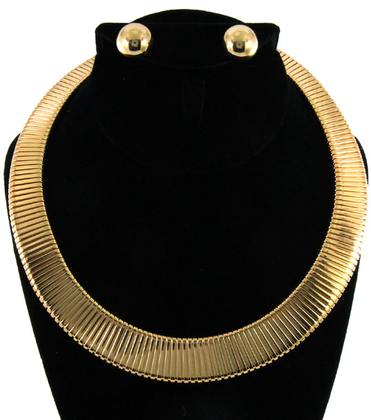 'Angela'  Choker Necklace and Earring Set