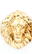 "Load image into Gallery viewer, ""AMI"" LION HEAD POST EARRING"