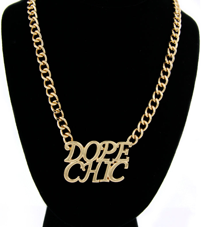 'Dope Chic'  Statement Necklace