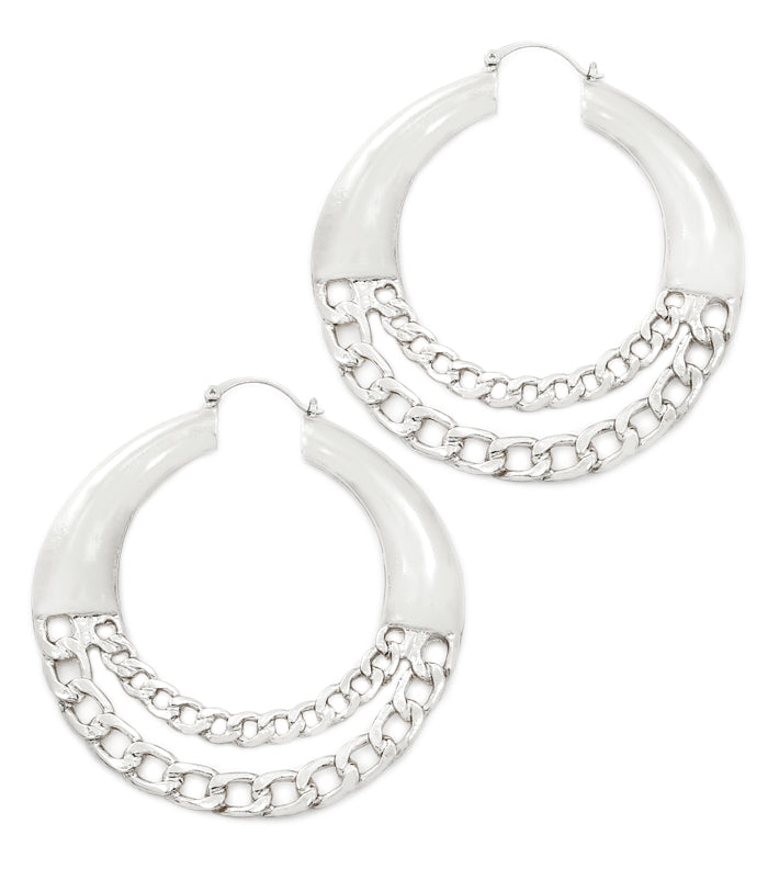 URBAN GLAM PN-CATCH EARRINGS